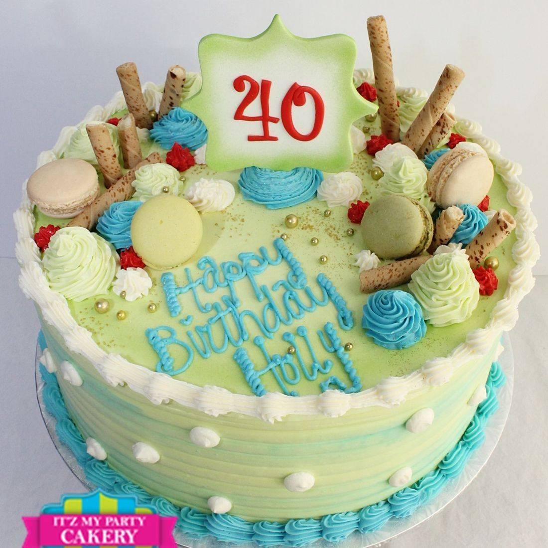 40 years old stylized cakes milwaukee