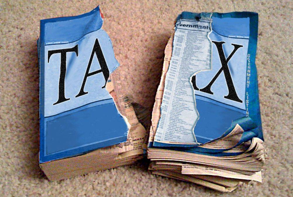 Torn Tax Codes Book