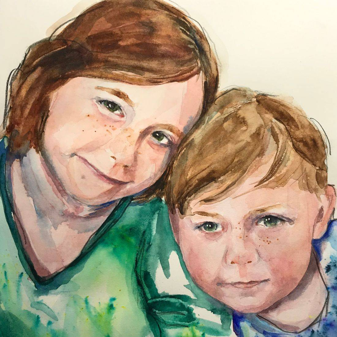 RPutbrese Watercolor by Rebecca/Becky Krutsinger