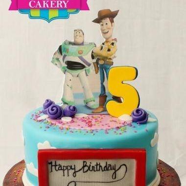 Custom Toy Story Buzz Woody Cake Milwaukee