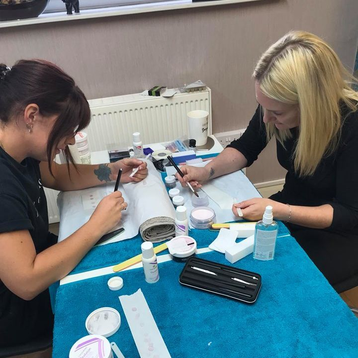 nail training, nail courses, nail training north west, bury, manchester, cuccio nail course, nail educator manchester, become a nail technician
