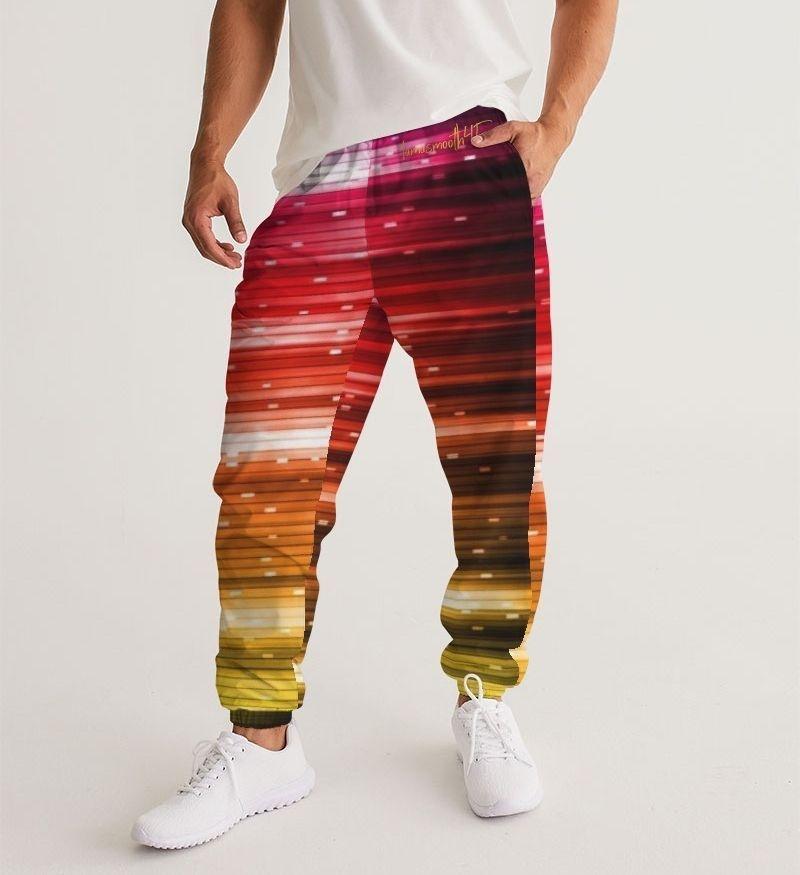 Rainbow Shine Men's Track Pants