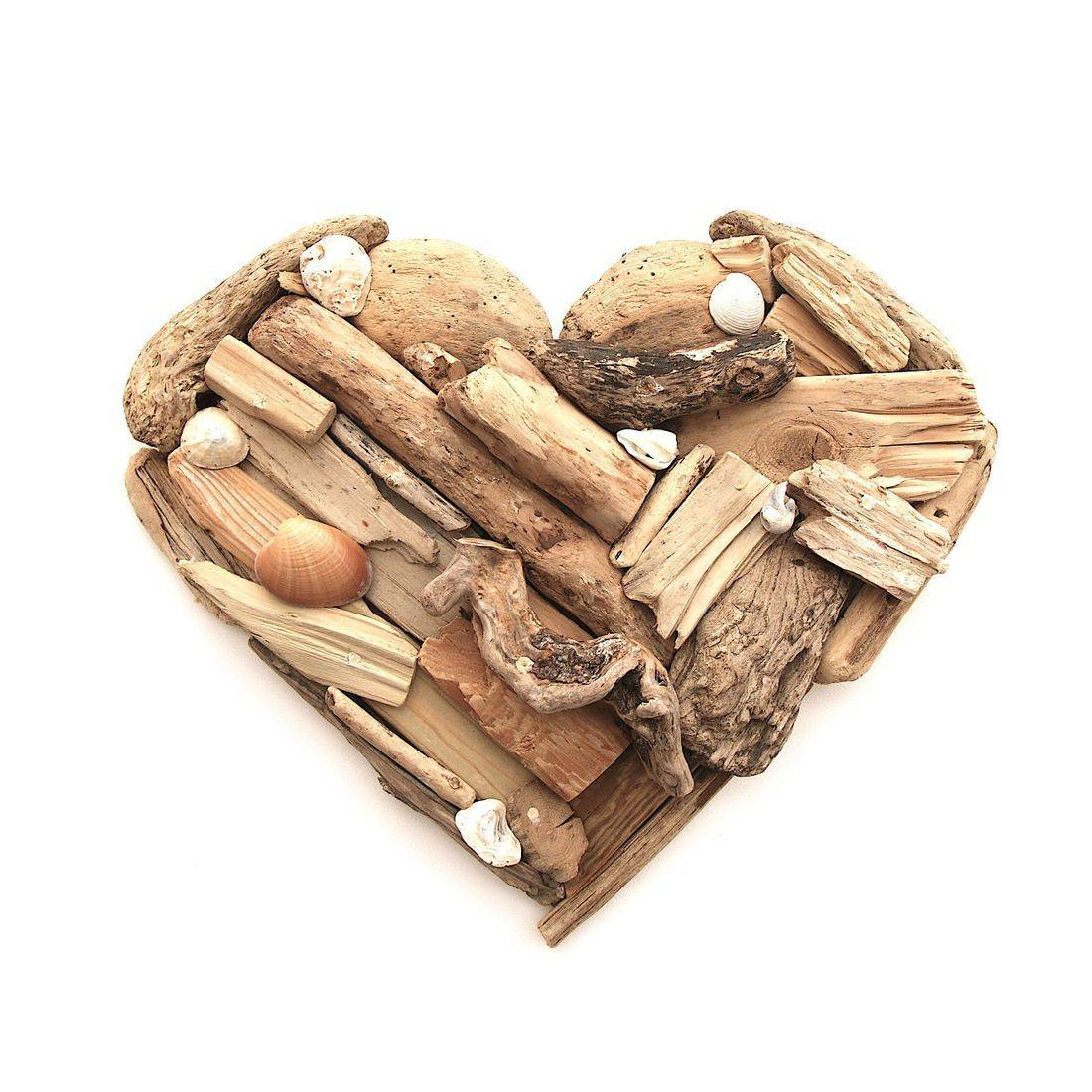 Driftwood Heart 9 Extra large