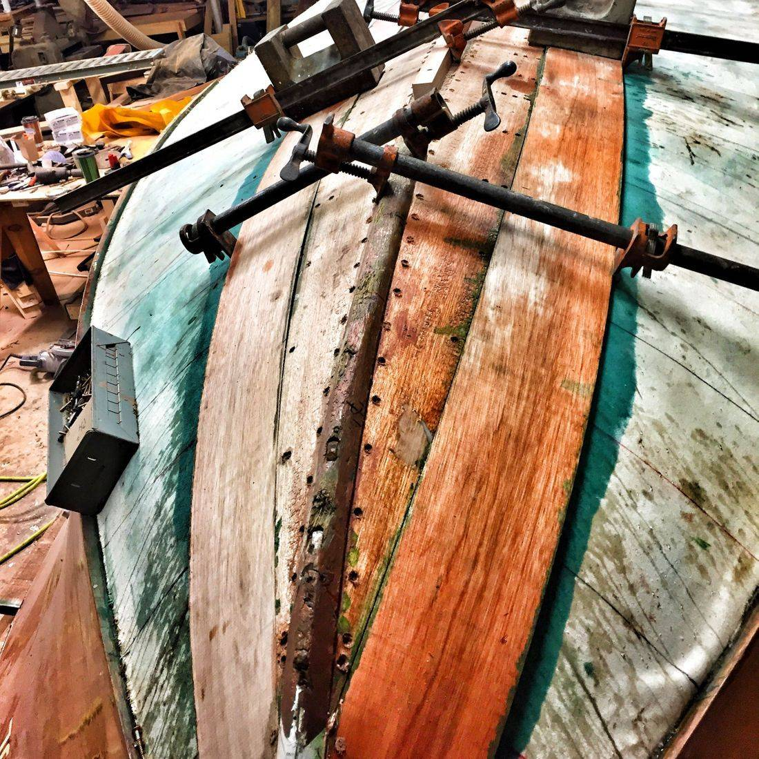 Bergersen Boat Co. Shepherd bottom replacment