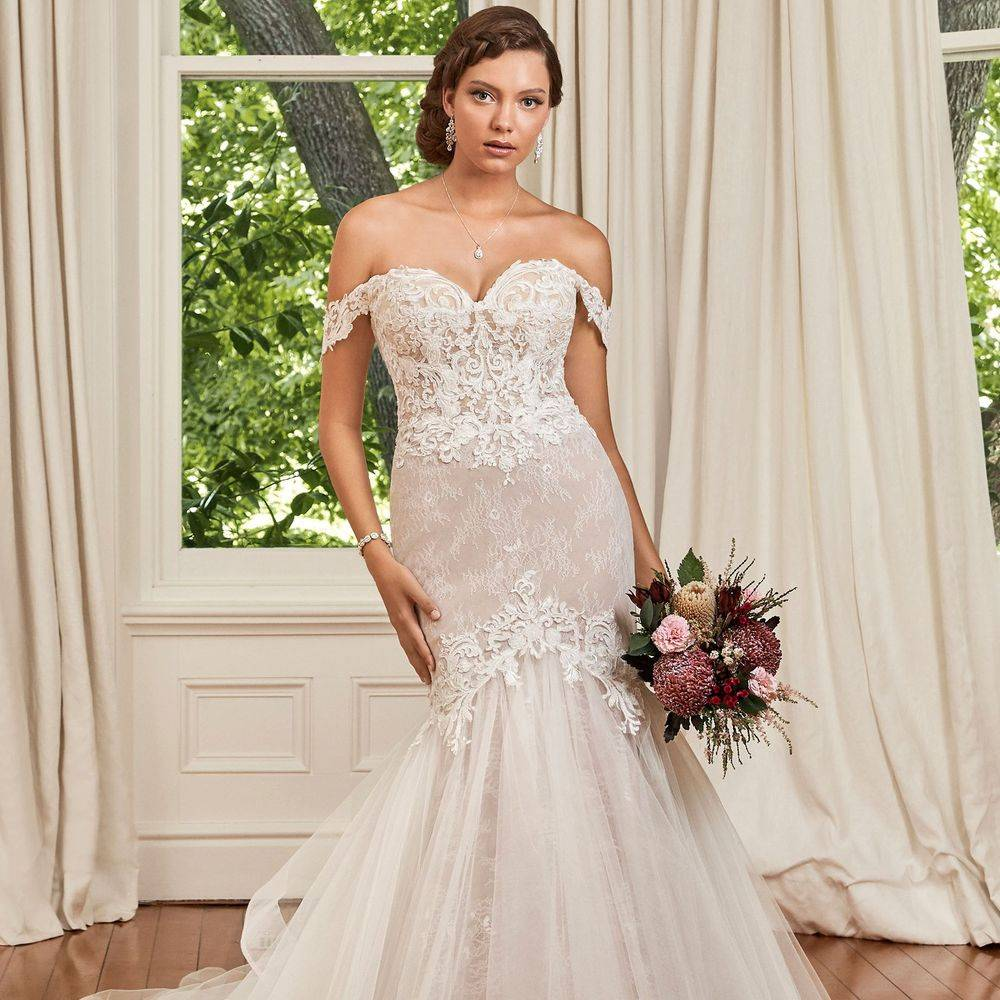 Sophia Tolli, Jayda, Y21980, Y21980 sophia tolli kent stockists, sophia tolli kent wedding dress shops, trumpet gown