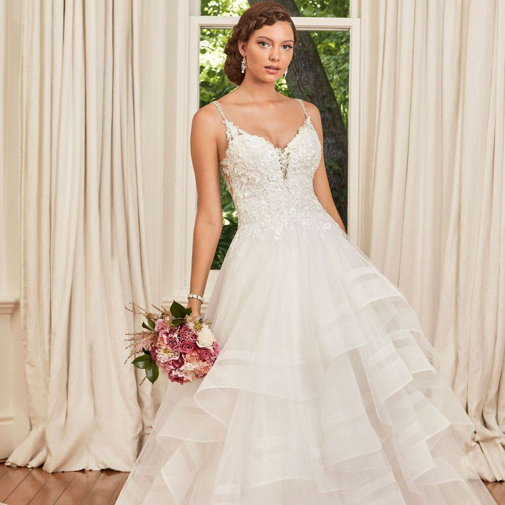 Y21989 Alesha Sophia Tolli, Sophia Tolli stockist, Sophia Tolli stockist in england, Sophia Tolli stockists in kent,  ball gown wedding dress