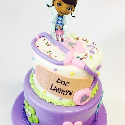 Custom Doc Mc Stuffin Cake Milwaukee