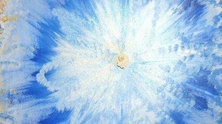 Acrylbild Geistiges Heilen von Adelheid Heggenstaller