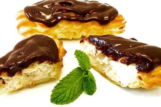 These are Homemade Eclairs by Arista