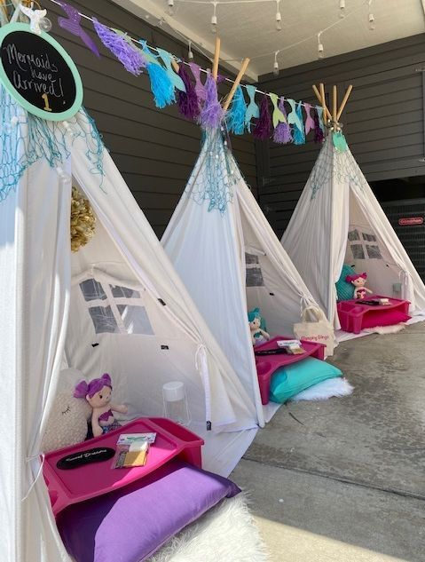 Kids party rentals, teepee rentals, teepees, teepee party, kids birthday party, kids sleepover party,  teepee sleepover, party planner, kids party planner, sleepover, Newport Beach, Orange County