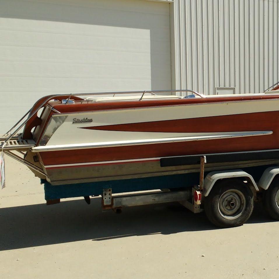 Streblow 23 V-drive for sale at Bergersen Boat