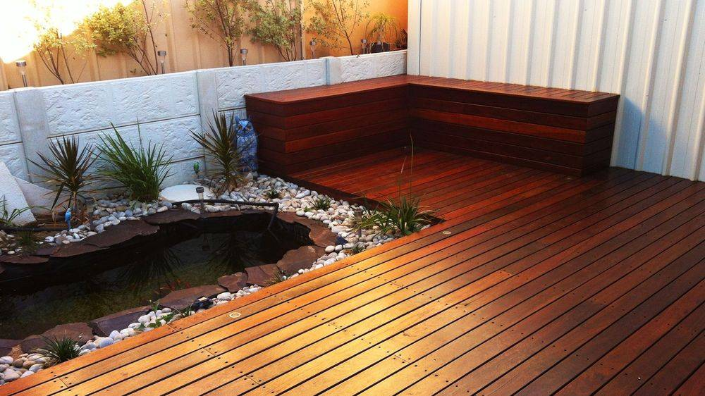 Jarrah Timber Decking