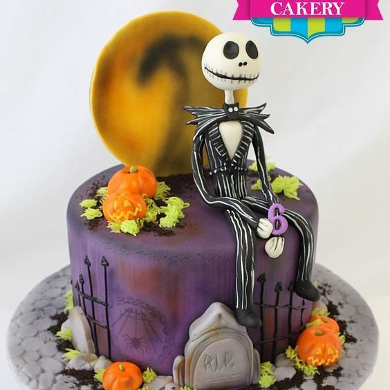 Custom Jack Skellington Cake Milwaukee
