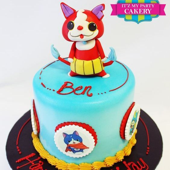 Custom Japanese Cartoon Cake Milwaukee