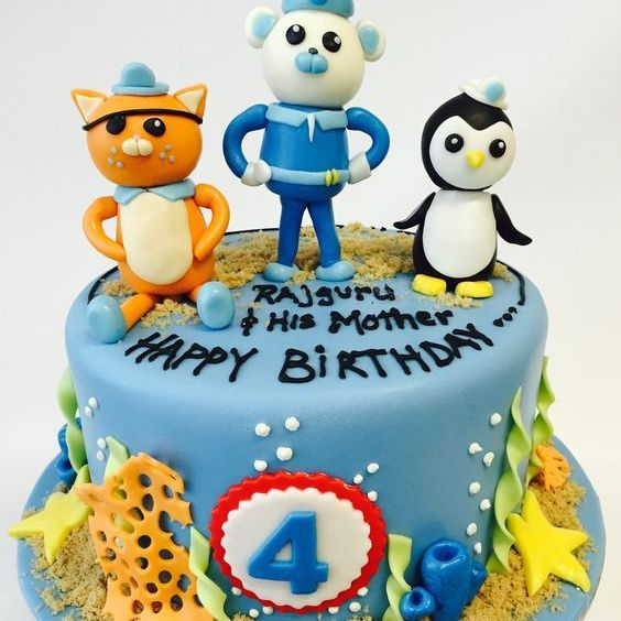 Custom Octonauts Cake Milwaukee