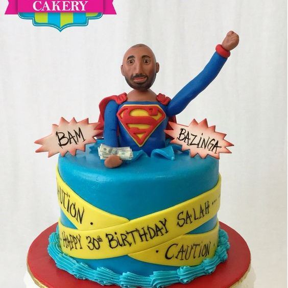 Custom Superman Cake Milwaukee
