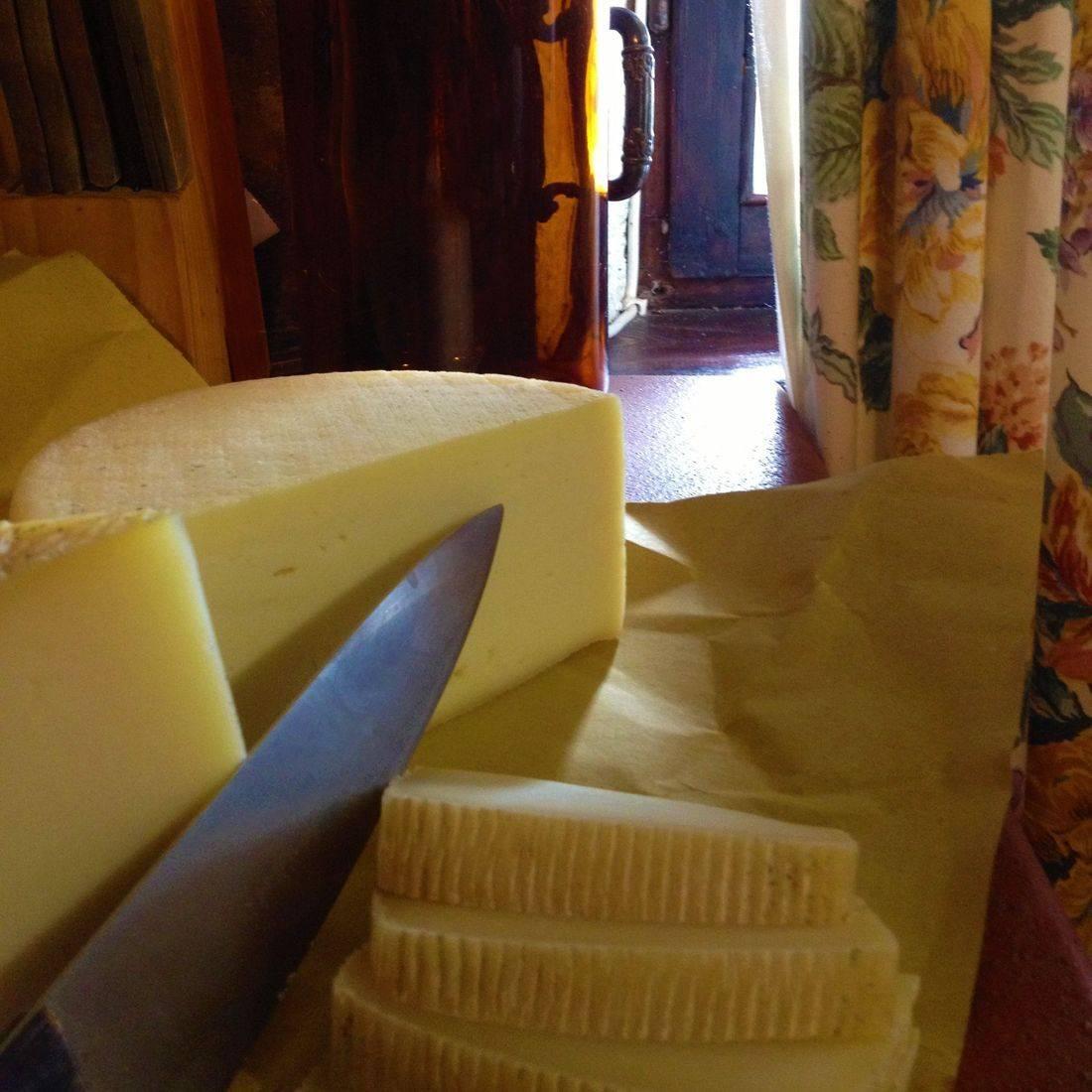 fresh pecorino cheese
