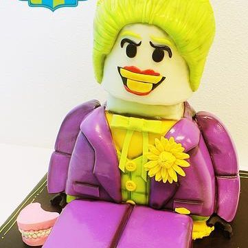 Joker Legoman Dimensional Cake Milwaukee