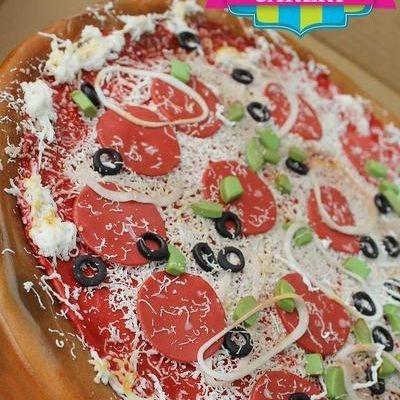 Pizza Dimensional Cake Milwaukee