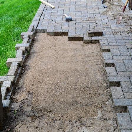 Brick Patio Installation Arcedo Construction