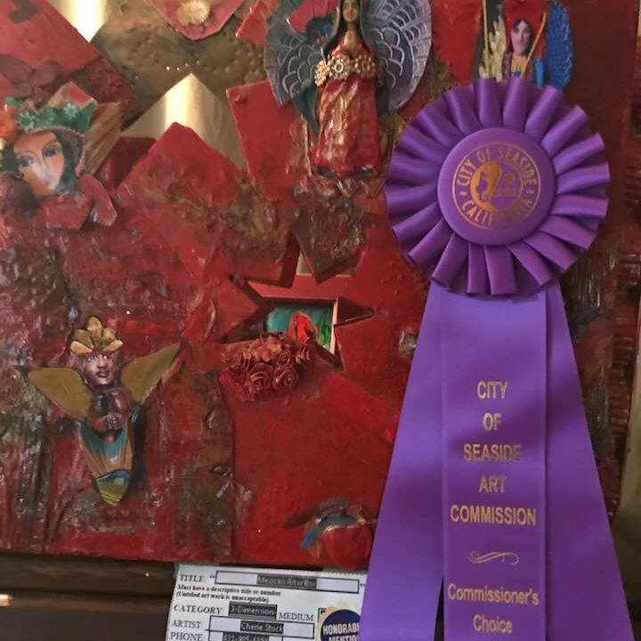 Commissioner's Prize, Avery Gallery Seaside Ca/Fall Art Competition/Juried Exhibit