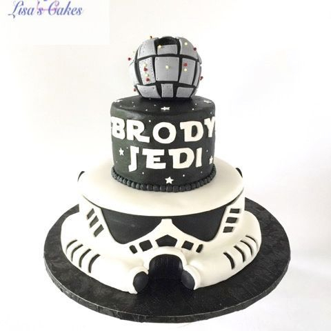Stormtrooper Star Wars Cake
