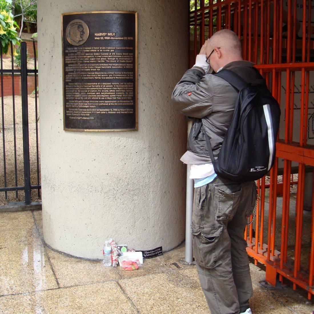 Earthmoves art pilgimage sacred secular LGBT Harvey Milk San Francisco