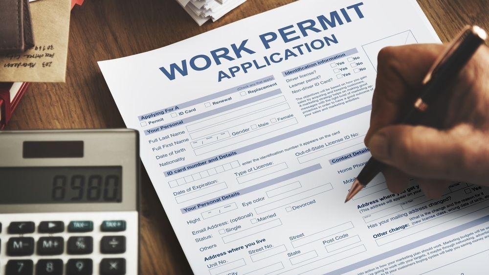 Fingerprinting for Work Permit