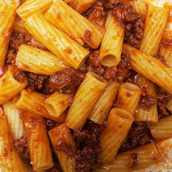 rigatoni and ragu