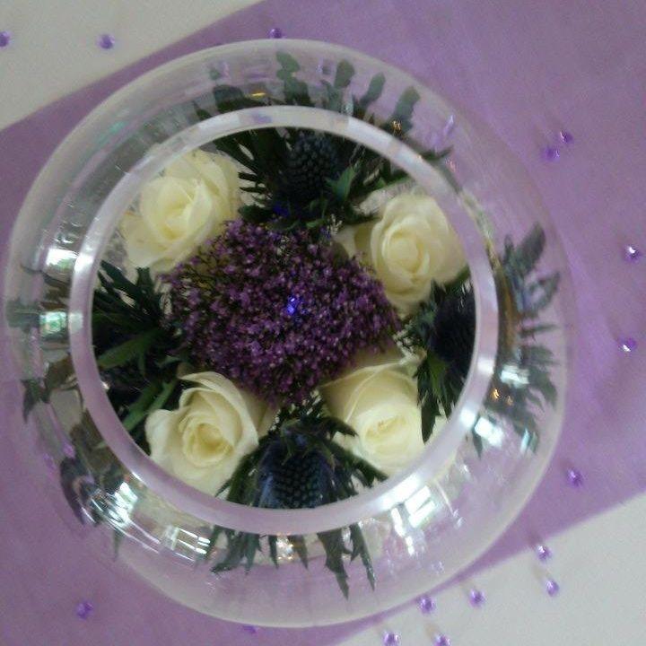 Bubble bowl wedding hire scotland