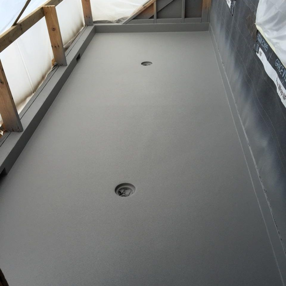 Rhino Lined Deck
