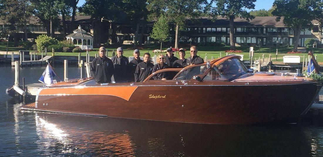 Shepherd boats aficionado