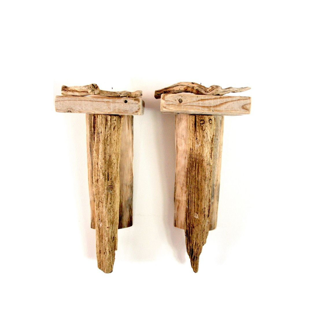 Driftwood Sconce pair 5