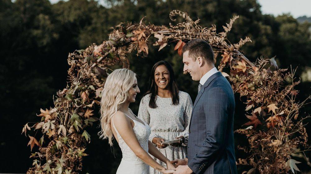Engaging wedding celebrant Newcastle Hunter Valley Port Stephens
