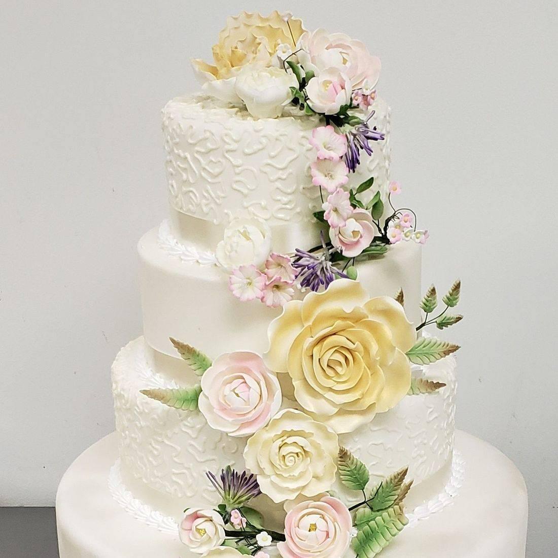 Wedding cake # 8