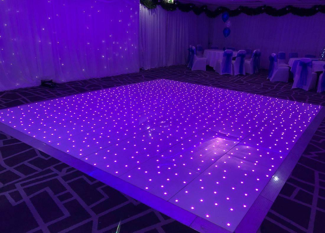 LED Dancefloor Hire Dudley Wedding Dance floor West Midlands