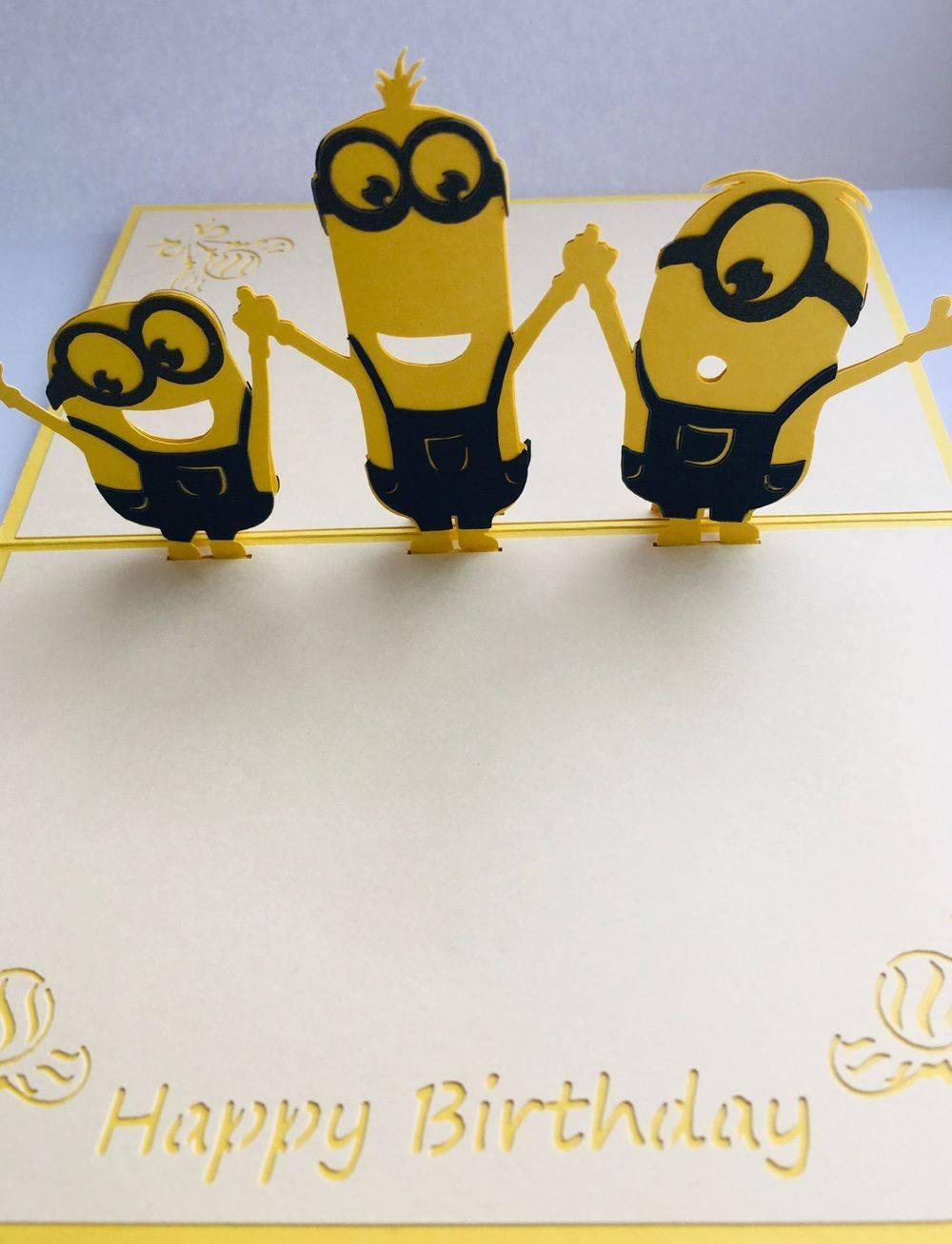 Minions Birthday Card