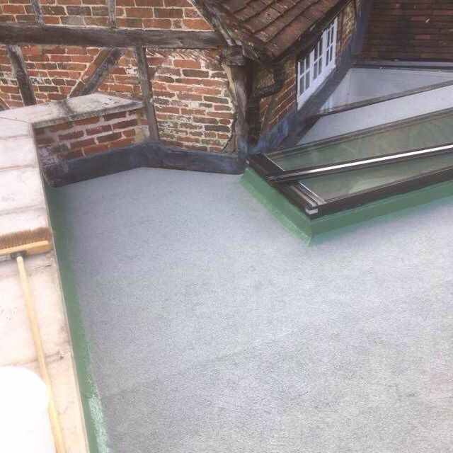 GRP flat roof coverings berkshire and surrey
