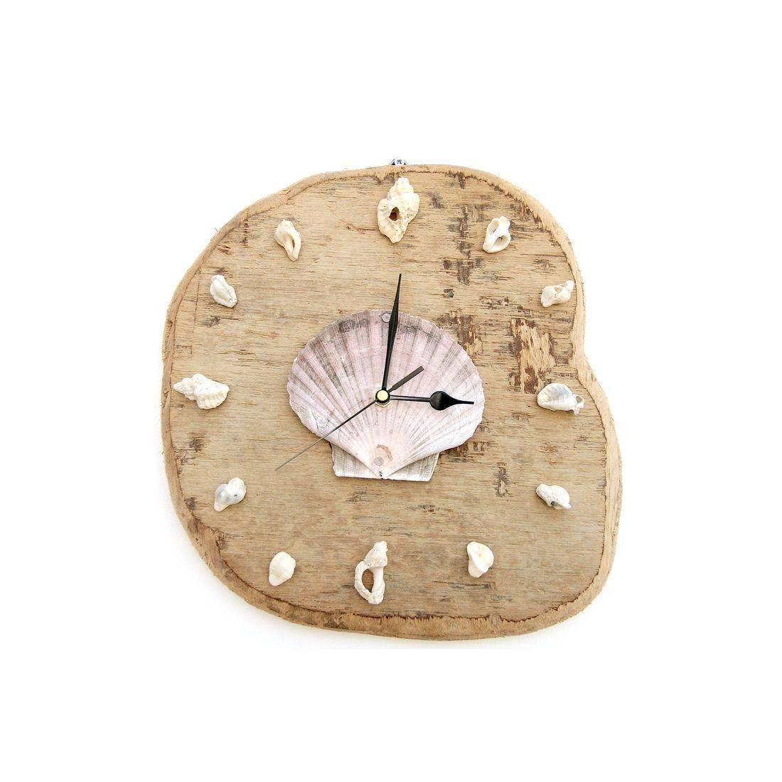Driftwood Clock 7