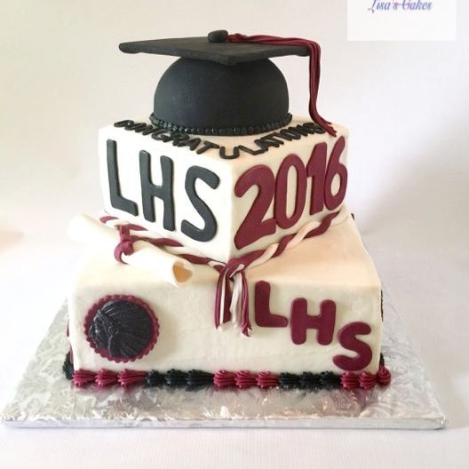 Lebanon High School Graduation Cakes