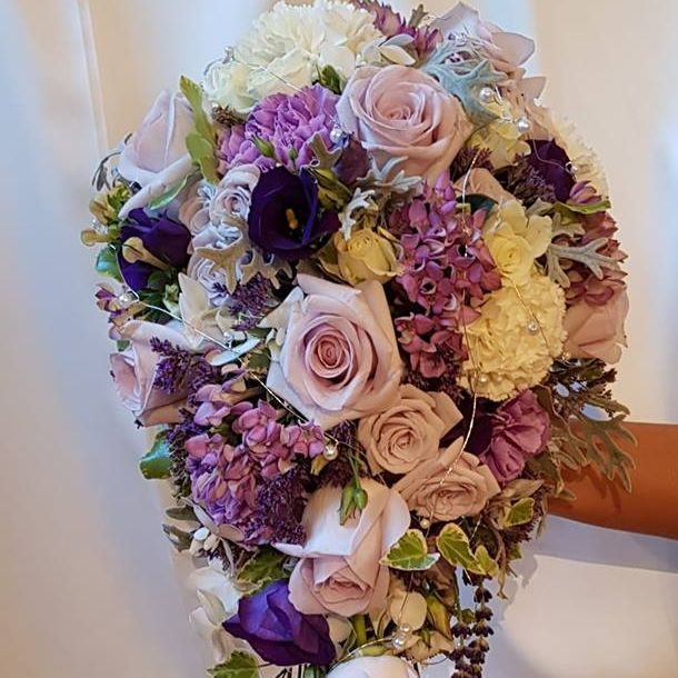 Bridal bouquet by Tui's Flowers