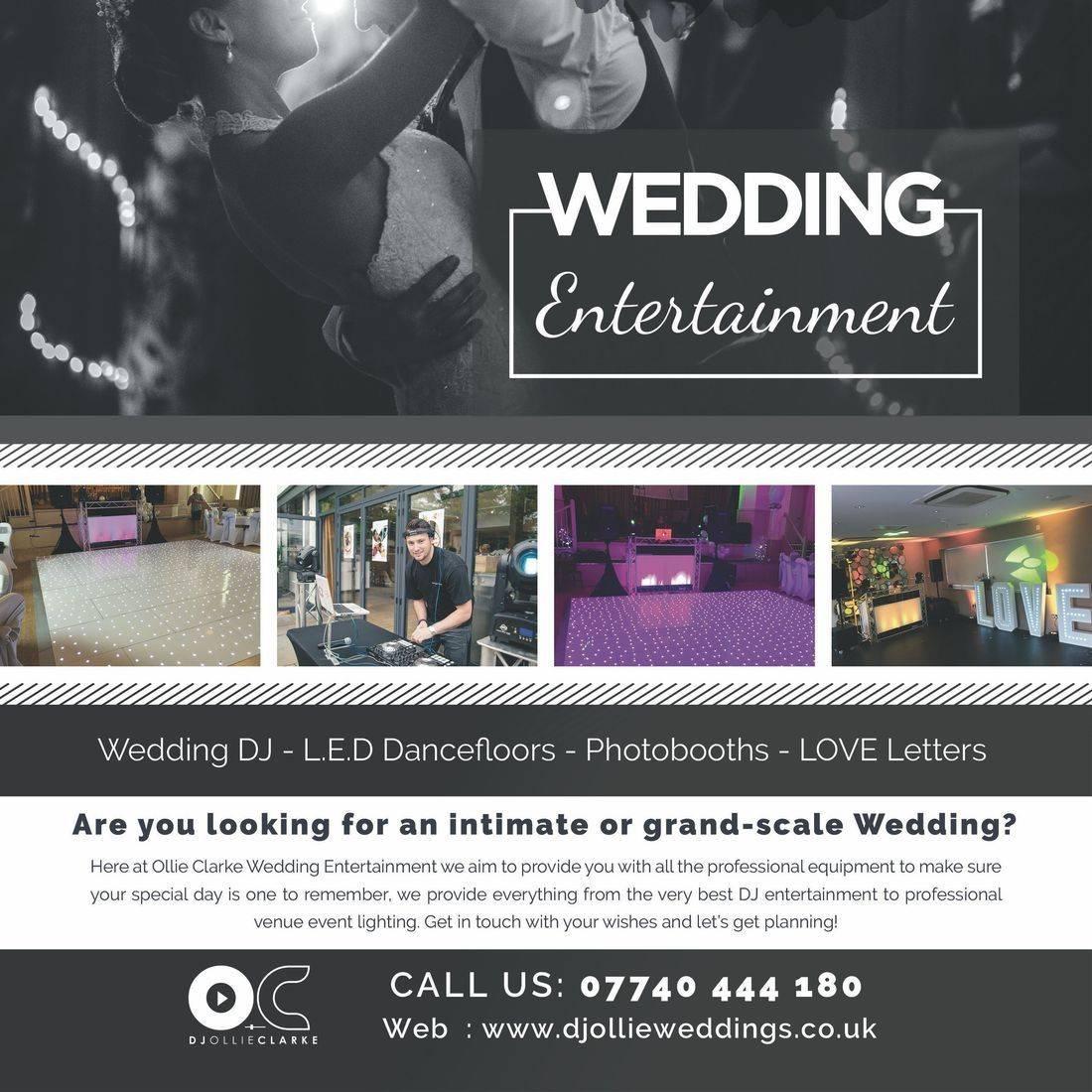 DJ Ollie Clarke Wedding DJ Stourbridge worcesterhsire Birmingham