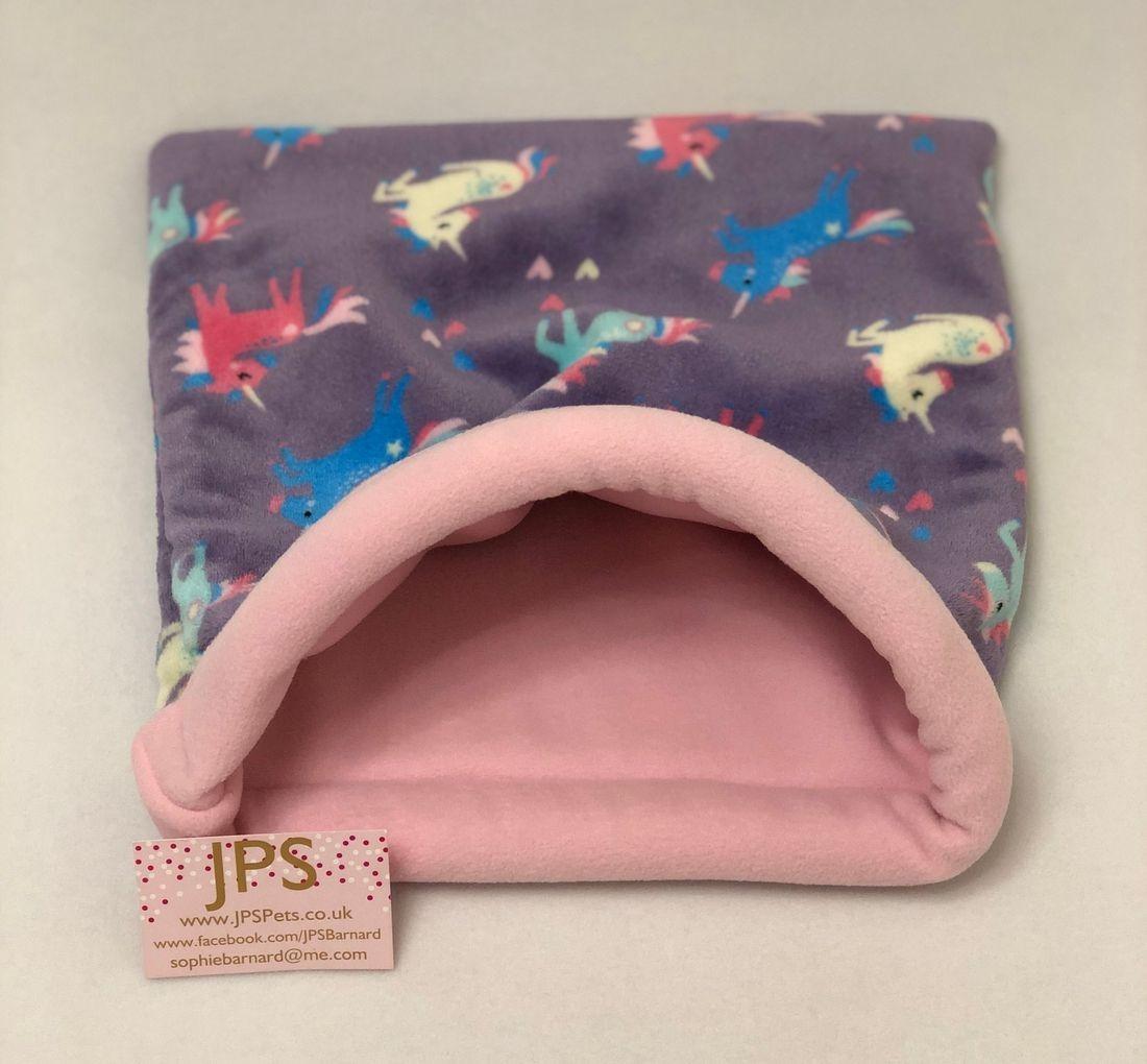 Flamingo Cuddle sack guinea pig