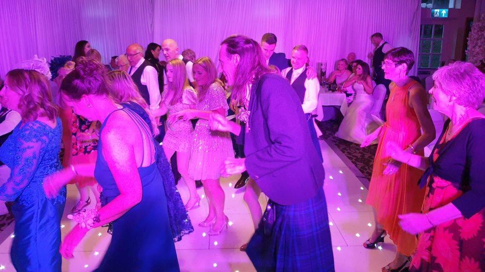 Glenskirlie Castle August Wedding, Sloshed