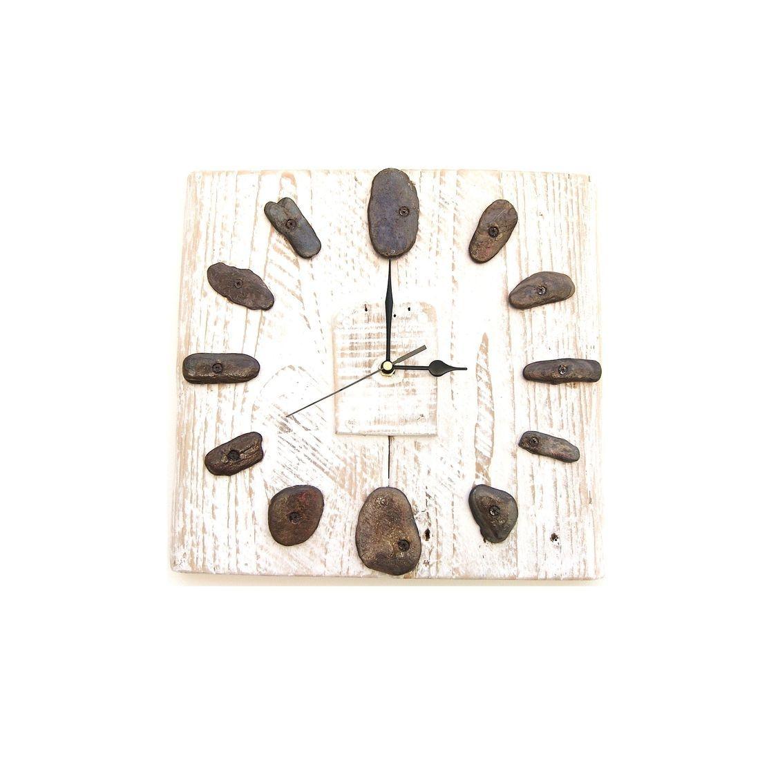 Driftwood Clock 4