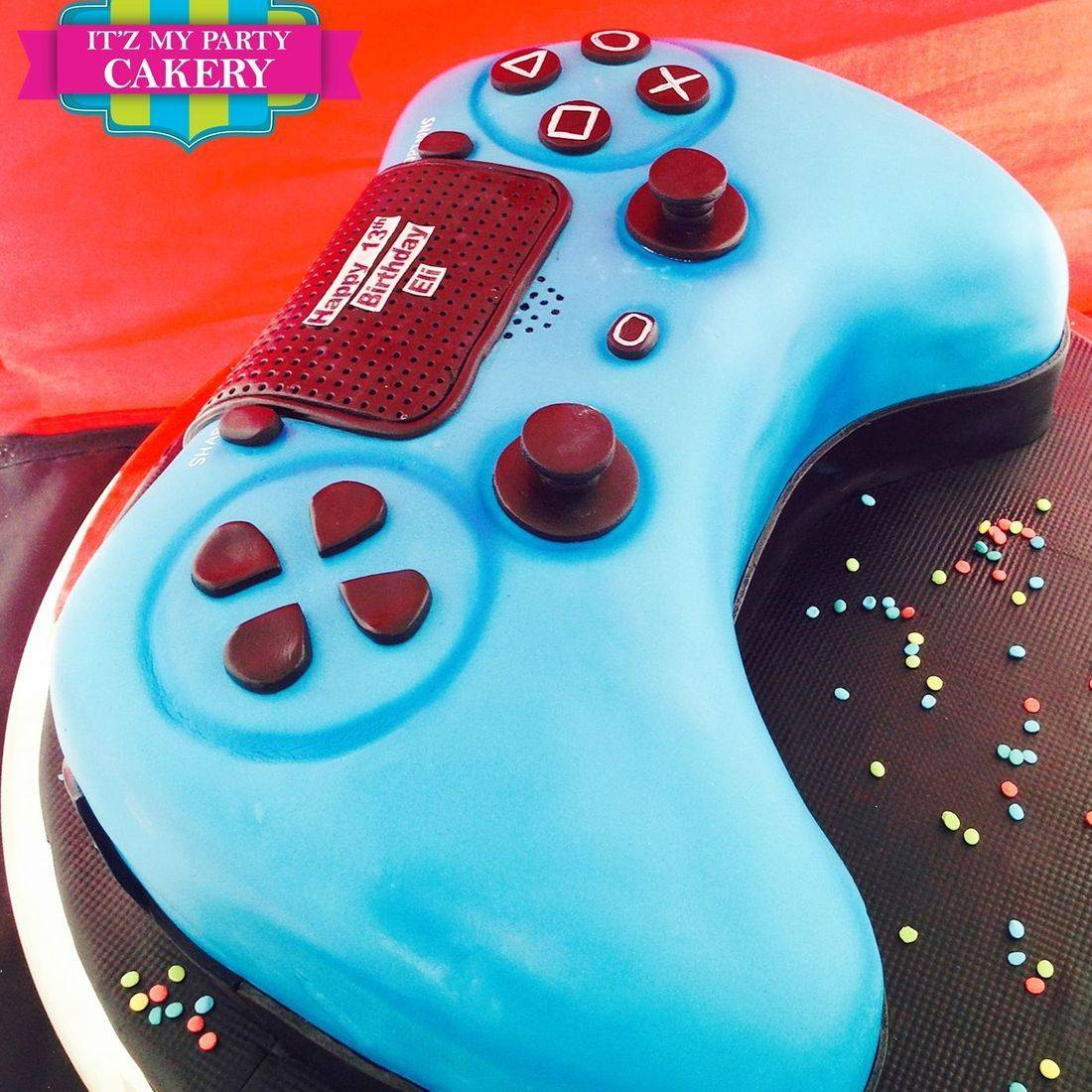 PS Controller Cake Dimensional Cake Milwaukee