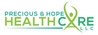 Precious & Hope HealthCare, LLC