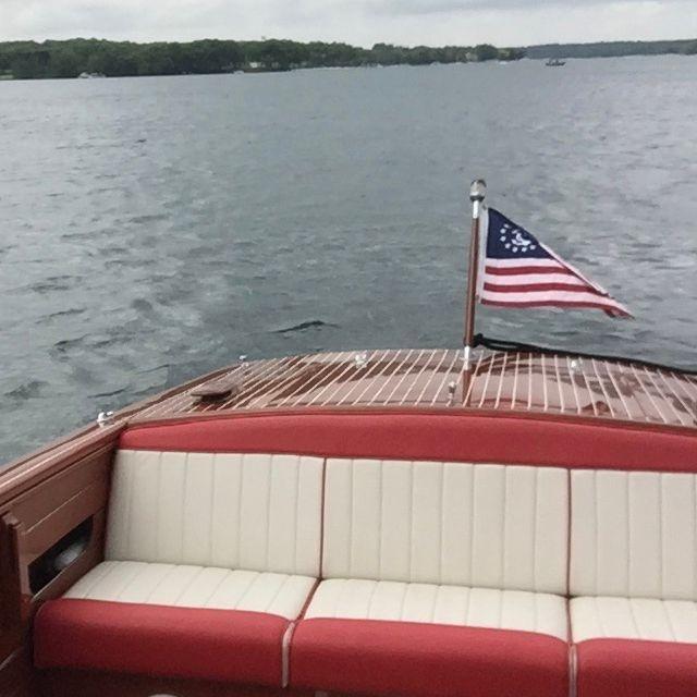 24' Shepherd Wood Boat for Sale Lake Geneva, WI
