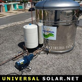 Cisterna - Presurizador 119 galones