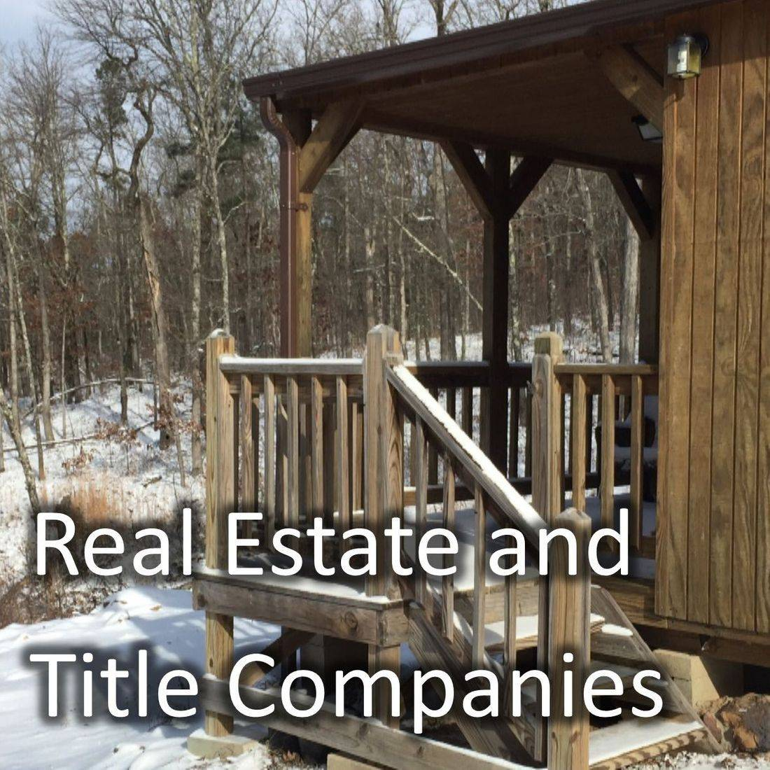 Real Estate and Title Companies